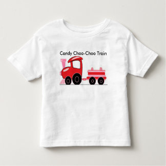 Candy Cane Choo-choo Train Toddler T-Shirt