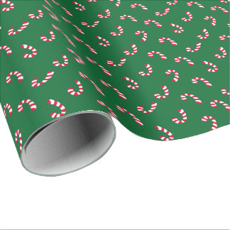 Candy Cane | Christmas Holiday Wrapping Paper