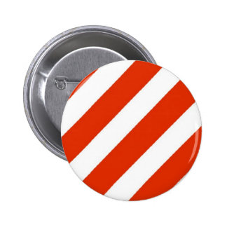 Candy Cane Christmas Stripes Pin