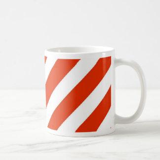 Candy Cane Christmas Stripes Coffee Mugs