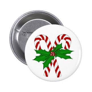 Candy Cane Collection 6 Cm Round Badge