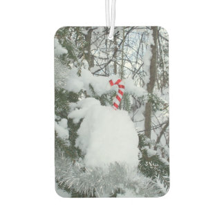 Candy Cane Decoration Car Air Freshener