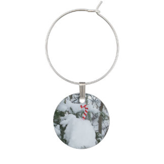 Candy Cane Decoration Wine Charm