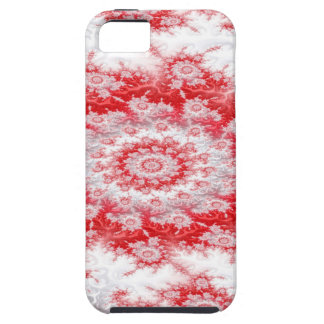 Candy Cane Flower Swirl Fractal iPhone 5 Case
