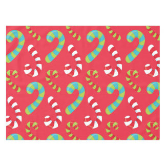 Candy Cane Fun Holiday Tablecloth