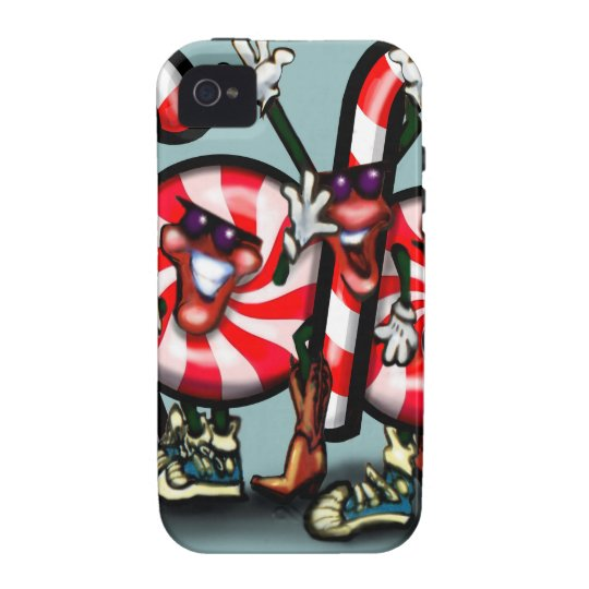 Candy Cane Gang Case For The iPhone 4