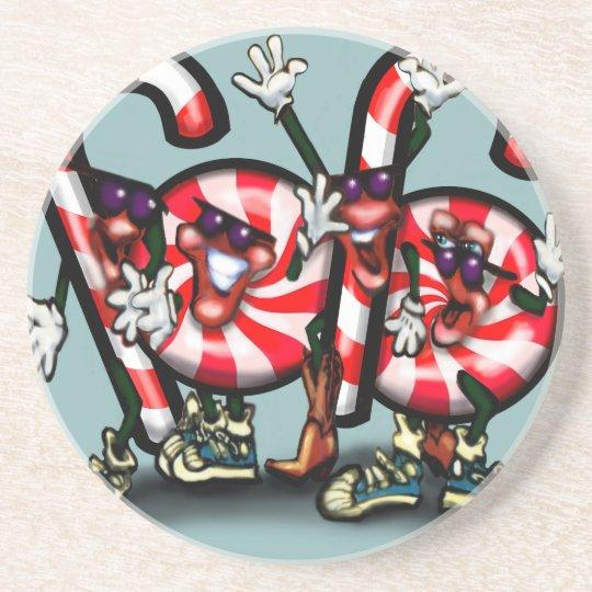 Candy Cane Gang Coaster