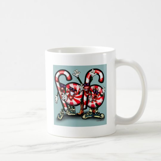 Candy Cane Gang Coffee Mug