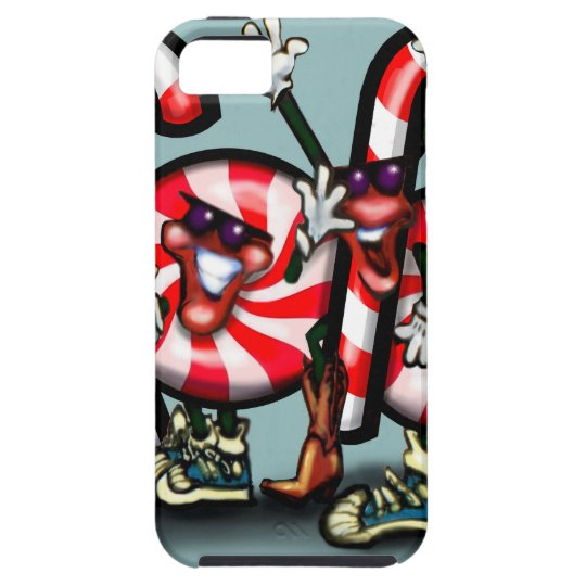 Candy Cane Gang iPhone 5 Case