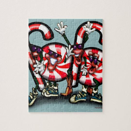 Candy Cane Gang Jigsaw Puzzle