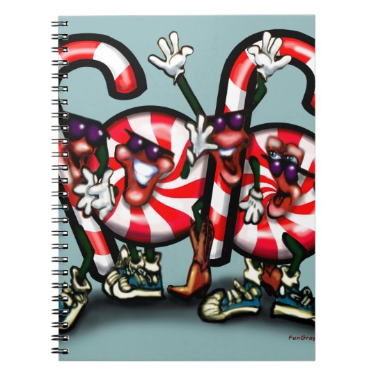 Candy Cane Gang Notebooks