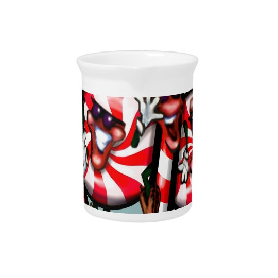 Candy Cane Gang Pitcher