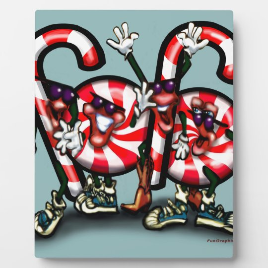 Candy Cane Gang Plaque
