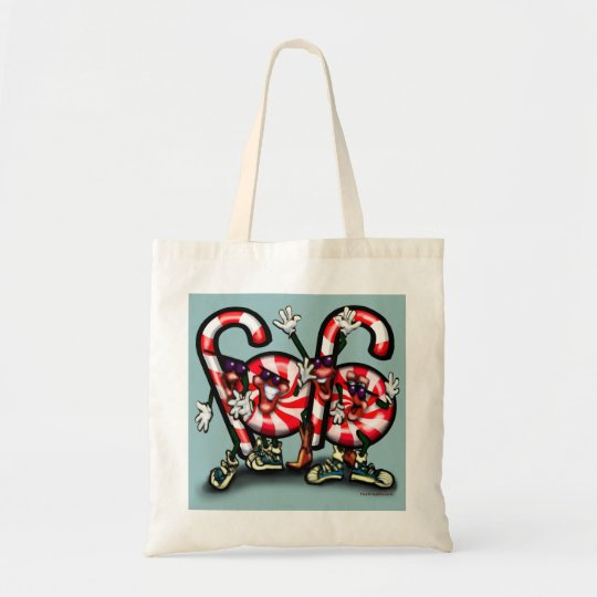 Candy Cane Gang Tote Bag