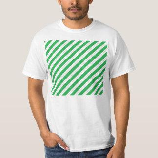 Candy Cane Green Stripes T Shirt