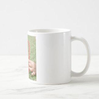 Candy Cane Heart Mug