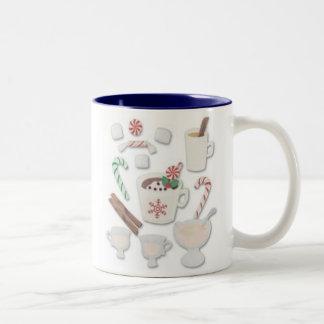 """""""Candy Cane"""" Holiday Mug"""