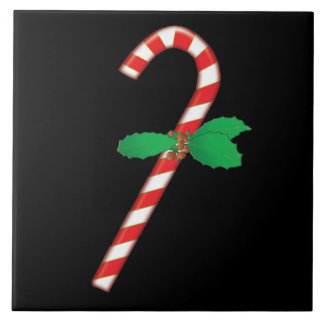 Candy Cane Holiday Tile