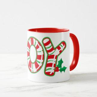 Candy Cane Joy Mug