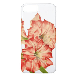 Candy Cane Lilies on an Apple iPhone Case