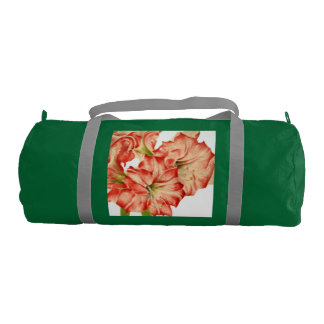 Candy Cane Lilies on Gym Bag