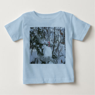 Candy Cane Outdoor Christmas Decoration Baby T-Shirt