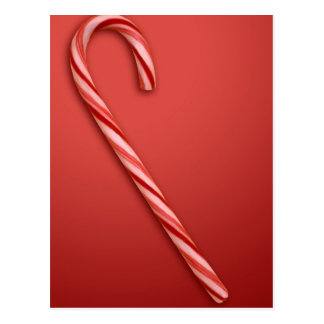 Candy Cane Postcard