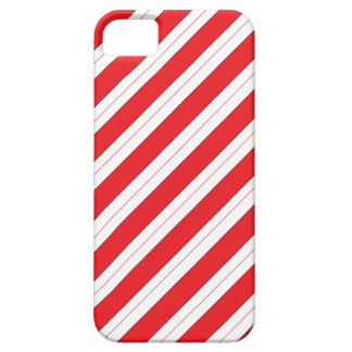 Candy Cane Red Stripes iPhone 5 Case
