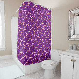 Candy Cane Shower Curtain