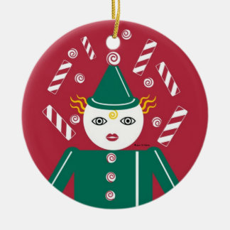 Candy Cane Sibling Ornament © 2011 M. Martz