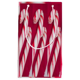Candy Cane Small Gift Bag