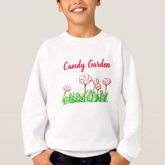 Candy Cane Sorrel Garden Sweatshirt