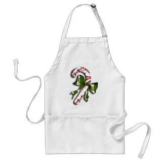 Candy Cane Standard Apron