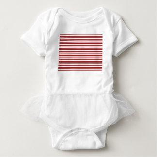 Candy-Cane-Stripe #13 Baby Bodysuit