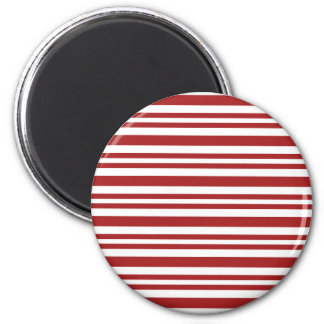 Candy-Cane-Stripe #13 Magnet