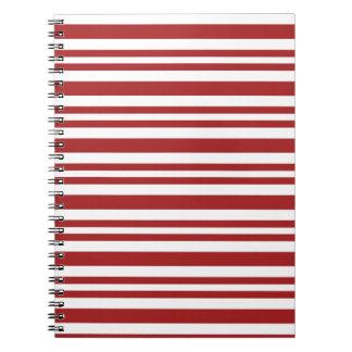 Candy-Cane-Stripe #13 Notebooks