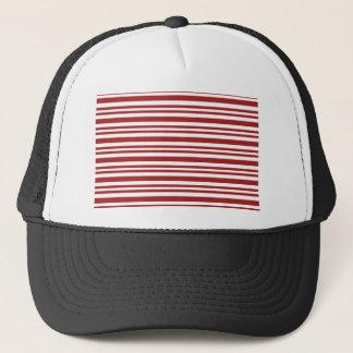 Candy-Cane-Stripe #13 Trucker Hat
