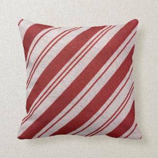 Candy Cane Stripe Cushion