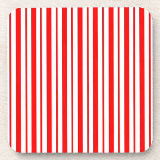 """""""Candy Cane Stripe"""" Holiday Coasters"""