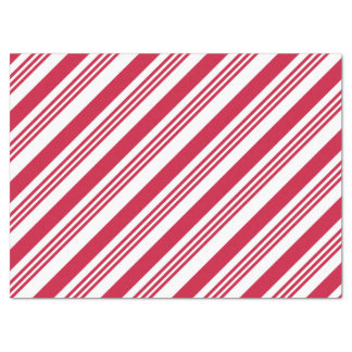 Candy Cane Stripe Holiday Tissue Paper