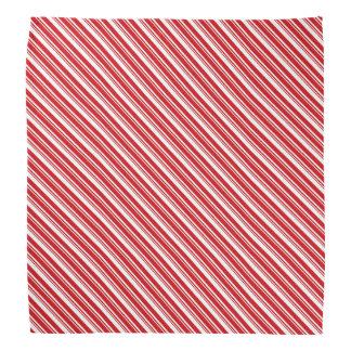 Candy Cane Stripes Bandana