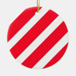 Candy Cane Stripes Christmas Tree Ornaments