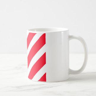 Candy Cane Stripes Coffee Mugs