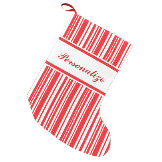 Candy Cane Stripes Small Christmas Stocking