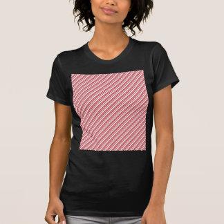 Candy Cane Stripes T Shirts