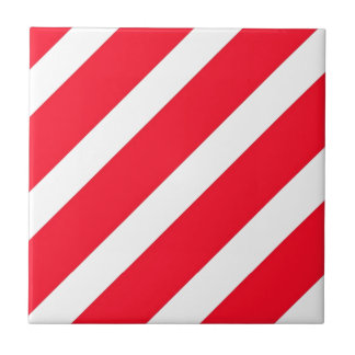 Candy Cane Stripes Tiles