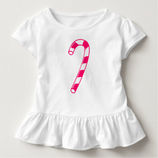 Candy Cane Toddler Ruffle Dress