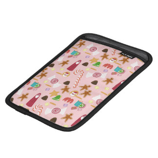 Candy Canes and Chocolates on Pink iPad Mini Sleeve