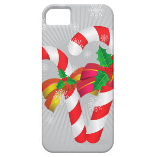 Candy canes background2 iPhone 5 case