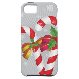 Candy canes background2 tough iPhone 5 case